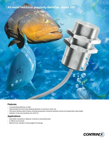 Stainless Inductive Proximity Switches - Industrial Safety Controls, Inc.