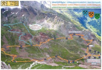 oberer Erlebnispfad • sentiero didattico superiore • upper mining ...