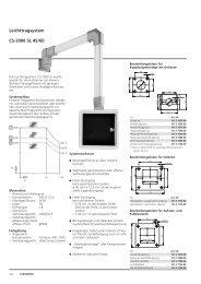 Leichttragsystem CS-2000 SL 45/60
