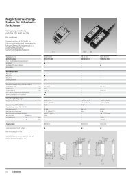 Magnetüberwachungs- System für Sicherheits- funktionen