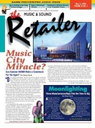 MS Retailer May 15, 2008 - Vol.24 No.5 - Music & Sound Retailer