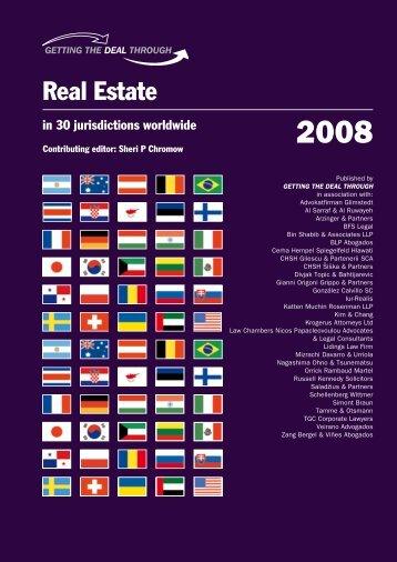 Real Estate - Mackrell International