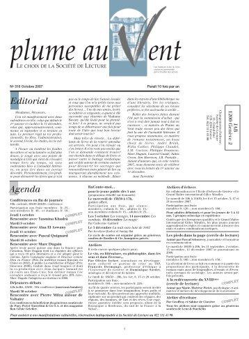 N°316 - Societe de Lecture Geneve