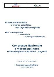 Congresso Nazionale Interdisciplinare - Acemc.it