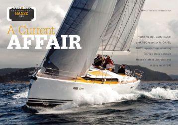 545 Review - Hanse Yachts