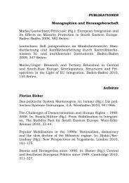 PUBLIKATIONEN Monographien und Herausgeberschaft Aufsätze