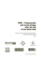 1989 – Young people and social change after the fall of the Berlin Wall