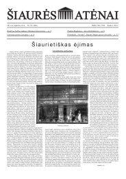 Nr.43 (1061) - Šiaurės Atėnai