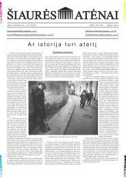 Nr.23 (993) - Šiaurės Atėnai