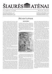 Nr.32 (1050) - Šiaurės Atėnai