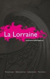 Freier Blick auf die ganze Lorraine tourismus ... - Tourisme en Lorraine