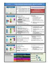 School Calendar - Touro Synagogue