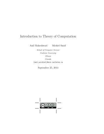 TheoryOfComputation