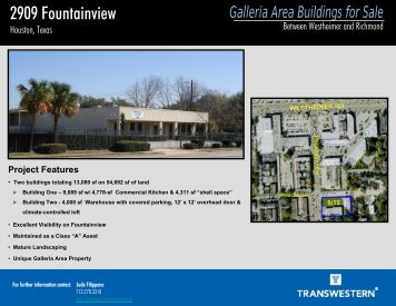 2909 Fountainview - Transwestern
