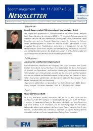 Newsletter 11/2007 - Sky Lounge Sky Lounge
