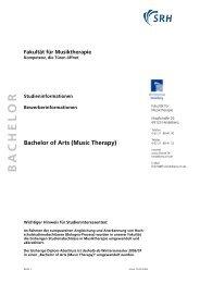 Bachelor of Arts (Music Therapy) - Sky Lounge Sky Lounge