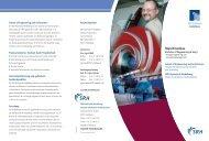 Kopie von Flyer Maschinenbau - Sky Lounge Sky Lounge