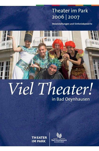 Download Programm TiP 2006/2007 - Bad Oeynhausen