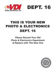 000_MISC PAGES_PHOTO & ELECTRONICS.indd - Variety ...