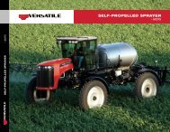 SX275 Self-Propelled Sprayer - Versatile