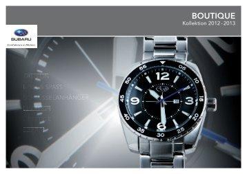Boutique-Prospekt als PDF - Subaru