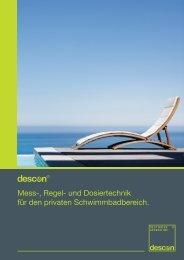 Mess-, Regel- und Dosiertechnik für den privaten ... - descon-trol.de