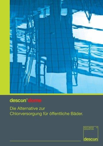 Die Alternative zur Chlorversorgung für öffentliche ... - descon-trol.de