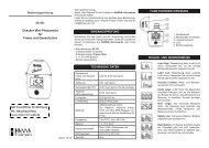 Bedienungsanleitung für Hanna Mini-Photometer HI701 f. Freies Chlor