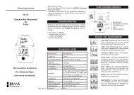 Bedienungsanleitung für Hanna Mini-Photometer HI727 f. Farbe d ...