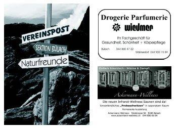 März/April 2011 - Naturfreunde Sektion Bülach
