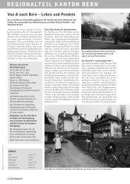 Velojournal 3/2012 - Pro Velo Kanton Bern