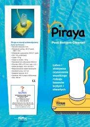 Łatwe i efektywne czyszczenie wszelkiego rodzaju basenów ... - pirtec