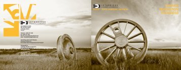 2009 - 2010 annual review - Lethbridge Chamber of Commerce