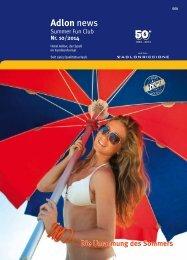 summer news - Hotel Adlon Riccione