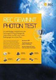 Photon Flyer 2011 - REC