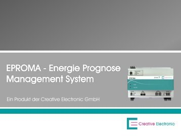 Ein Produkt der Creative Electronic GmbH - Creative Energy Systems