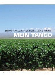 BRUNO-THOMAS ELTSCHINGER IN ARGENTINIEN - hoteljournal.ch