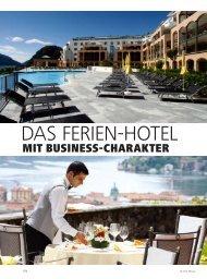 DAS FERIEN-HOTEL - hoteljournal.ch