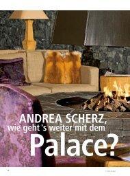 ANDREA SCHERZ, - hoteljournal.ch
