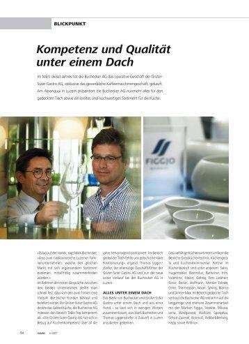 Kompetenz und Qualität unter einem Dach - hoteljournal.ch