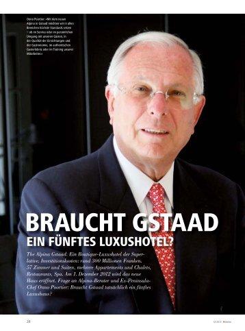 BRAUCHT GSTAAD - hoteljournal.ch
