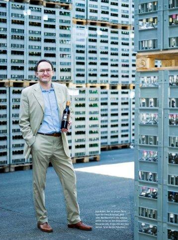 Ivan Barbic, hier im grossen Wein lager der Firma ... - hoteljournal.ch