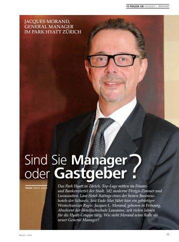 oder Gastgeber? - hoteljournal.ch
