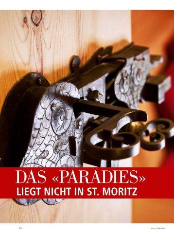 DAS «PARADIES» - hoteljournal.ch