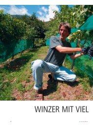 42_Winzer Portraet HO 1_2010 - Schweizer Hoteljournal