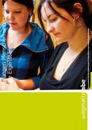 Mit jungen Menschen unterwegs in die Eigenständigkeit - Stiftung SBE