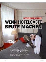 WENN HOTELGÄSTE - hoteljournal.ch
