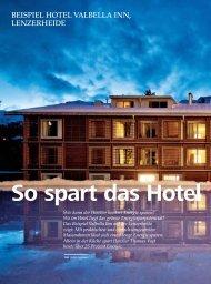 BEISPIEL HOTEL VALBELLA INN, LENZERHEIDE - hoteljournal.ch