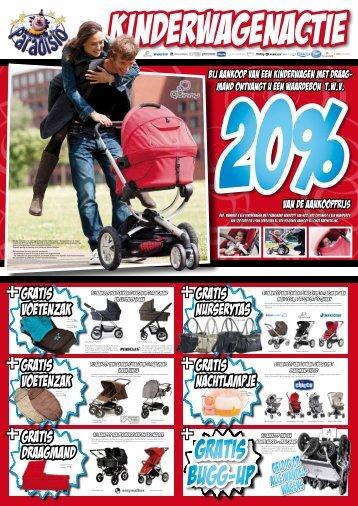 gratis voetenzak gratis draagmand gratis nurserytas gratis - Paradisio