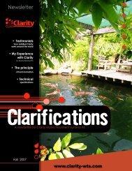 Download Clarity Brochure - Koi Water Garden Ltd